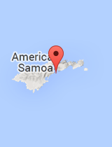 General map of American Samoa