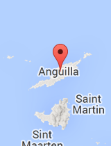 General map of Anguilla