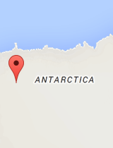 General map of Antarctica