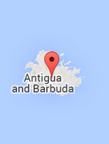 General map of Antigua and Barbuda