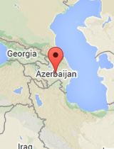 General map of Azerbaijan