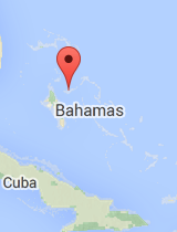 General map of Bahamas
