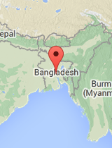 General map of Bangladesh