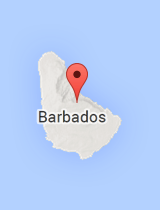 General map of Barbados
