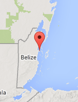 General map of Belize