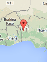 General map of Benin