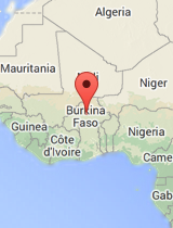 General map of Burkina Faso