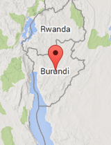 General map of Burundi