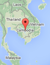 General map of Cambodia