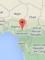 General map of Cameroon