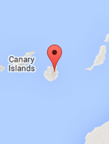 General map of Canary Islands