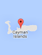 General map of Cayman Islands