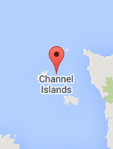 General map of Channel Islands
