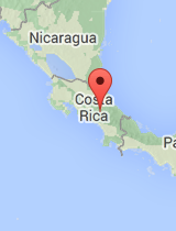 General map of Costa Rica
