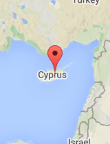 General map of Cyprus