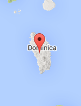General map of Dominica