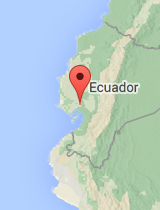 General map of Ecuador