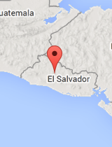 General map of El Salvador
