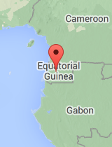 General map of Equatorial Guinea