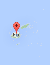 General map of Fiji