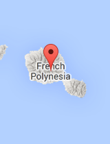 General map of French Polynesia