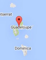 General map of Guadeloupe