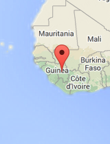 General map of Guinea