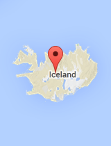 General map of Iceland
