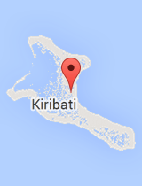 General map of Kiribati