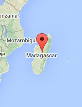 General map of Madagascar