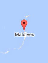 General map of Maldives