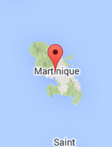 General map of Martinique