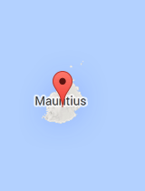 General map of Mauritius