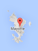 General map of Mayotte