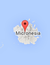 General map of Micronesia