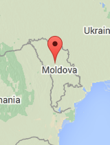 General map of Moldova
