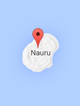 General map of Nauru
