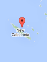 General map of New Caledonia