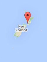 General map of New Zealand