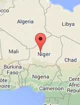 General map of Niger