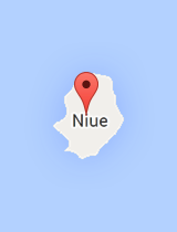 General map of Niue