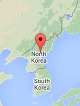 General map of North Korea