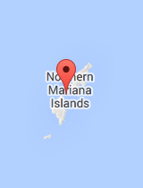 General map of Northern Mariana Islands