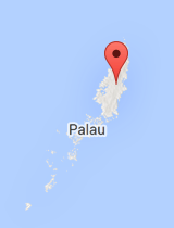 General map of Palau