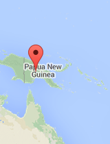 General map of Papua New Guinea