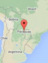 General map of Paraguay