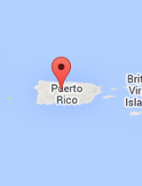 General map of Puerto Rico