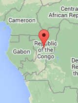 General map of Republic of the Congo