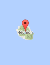 General map of Réunion