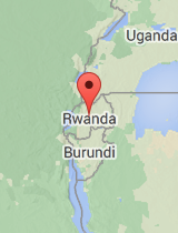 General map of Rwanda